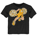Toddler Girl Pittsburgh Steelers Pom Pom Cheer Tee