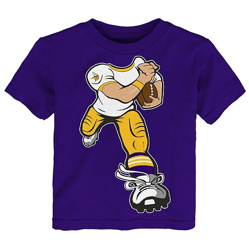 Toddler Boy Minnesota Vikings Yard Rush Tee
