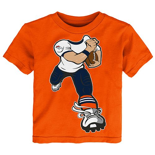 Toddler Boy Denver Broncos Yard Rush Tee