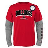 Boys 8-20 Georgia Bulldogs Combo Tee Set