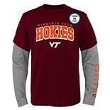 Boys 8-20 Virginia Tech Hokies Combo Tee Set