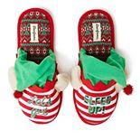 Unisex Dearfoams Unisex Elf Holiday Scuff Slippers