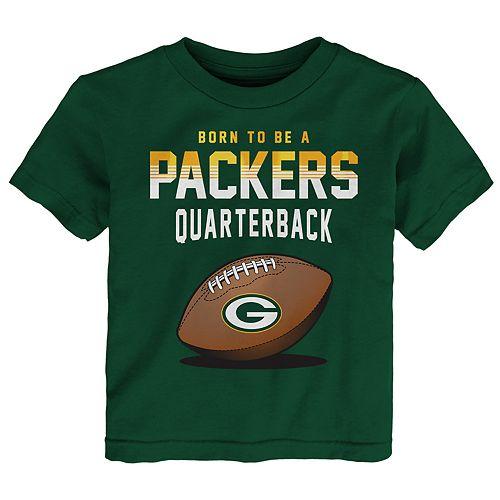 Toddler Boy Green Bay Packers Future Quarterback Short Sleeve Tee