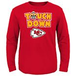 Boys 8-20 Kansas City Chiefs Touch Down Long Sleeve Tee