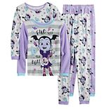 Disney's Vampirina Girl's 4-8 Tops & Bottoms Pajama Set