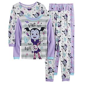Disney's Vampirina Girl's 4-8 Tops & Bottoms Pajama Set