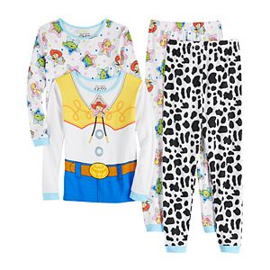 Disney's Toy Story Jessie Girls 4-8 Top & Bottoms Pajama Set