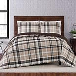 Truly Soft Paulette Plaid Quilt Set