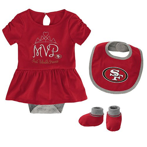 Infant My First Creeper San Francisco 49ers Baby