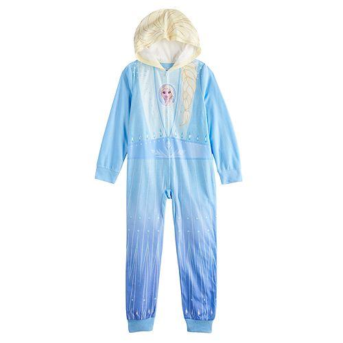 Disney's Frozen 2 Girls 4-8 One-Piece Footless Pajama