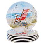 Certified International Ocean View 6-pc. Salad Plate Set