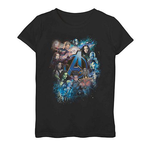 Girls 7-16 Marvel Avengers Endgame Heroine Power Tee