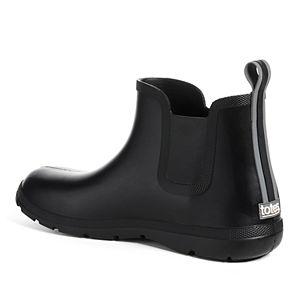 totes Cirrus Men's Waterproof Chelsea Rain Boots