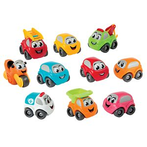 Smoby Vroom Planet 10 Bubble Cars