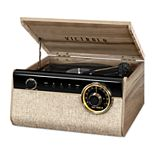 Victrola 4-in-1 Austin Bluetooth Record Player with 3-Speed Turntable and FM Radio