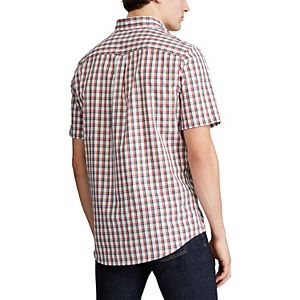 Big & Tall Chaps Classic-Fit Performance Button-Down Shirt