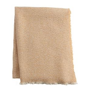 Women's LC Lauren Conrad Woven Blanket Wrap with Petite Pleat