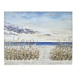 New View Gifts & Accessories Seaside Embellished Stretched Canvas