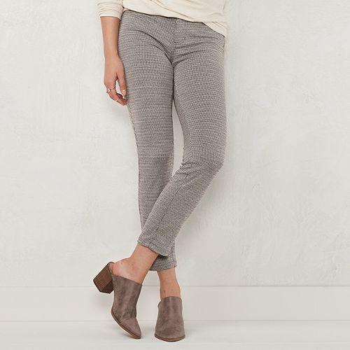 Women's LC Lauren Conrad Ponte Super Skinny Pants
