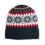 Men's Urban Pipeline? Fairisle Sherpa-Lined Beanie