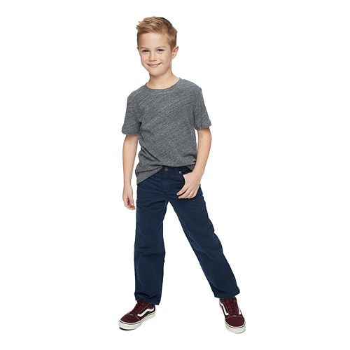 Boys 4-12 SONOMA Goods for Life™ Relaxed-Fit Twill Pants