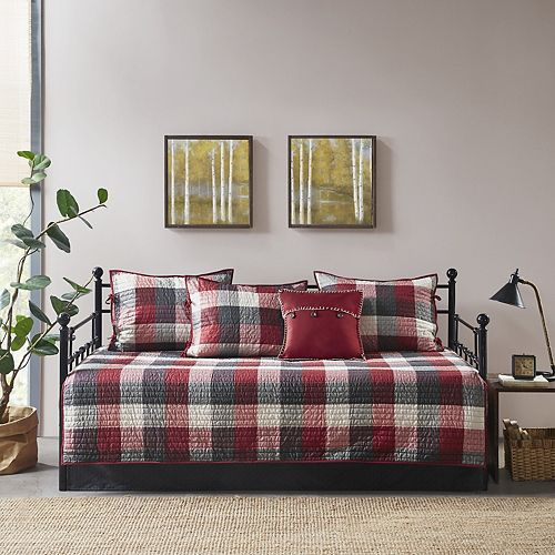 Admirable Madison Park Pioneer 6 Piece Reversible Daybed Cover Set Spiritservingveterans Wood Chair Design Ideas Spiritservingveteransorg