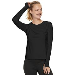 338903f204 Womens FILA SPORT Active Long Sleeve Tops, Clothing | Kohl's