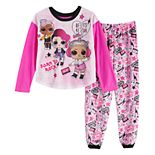 Girl's L.O.L.! Surprise Rock the Beat 2-piece Pajama Set