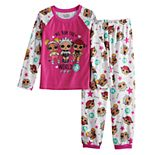 Girl's 6-12 L.O.L. Surprise! Top & Bottom Brushed Micro Jersey Pajama Set
