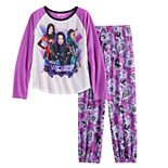 Disney's Descendants Girls 6-12 Top & Bottoms Pajama Set