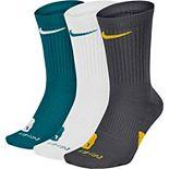 Men's Nike 3-pack Elite Dri-FIT Basketball Crew Socks