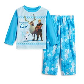 Disney's Frozen 2 Toddler Top & Bottoms Pajama Set by Jammies For Your Families