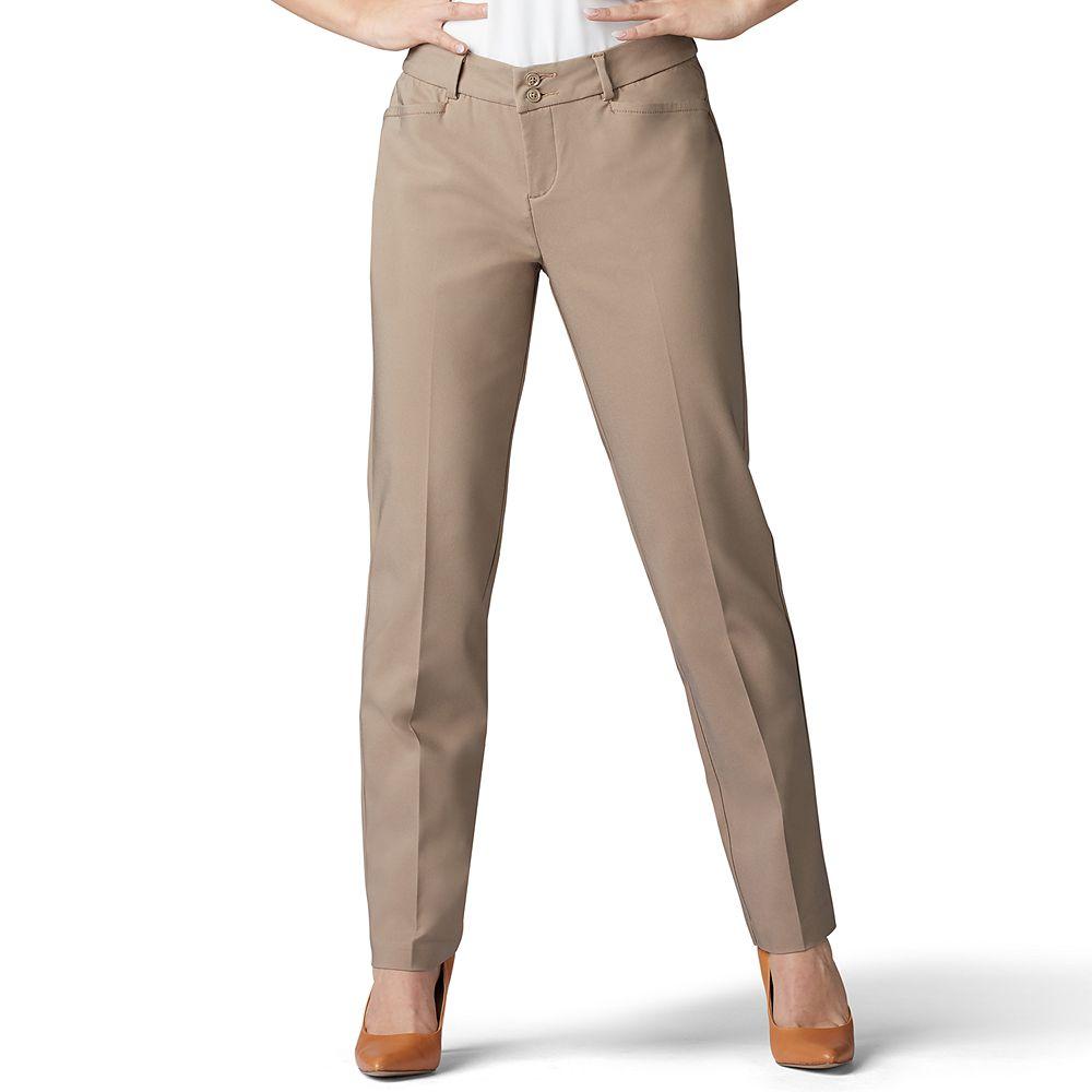 Petite Lee® Secretly Shapes Straight Leg Pant