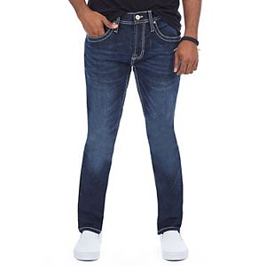 Men's Cultura Saddle-Stitch Stretch Jeans