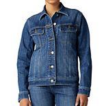 Women's Lee Petite Regular Fit Legendary Jean Jacket