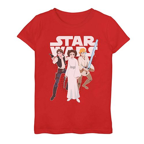 Girls 7-16 Star Wars Galaxy Of Adventures Rebel Graphic Tee