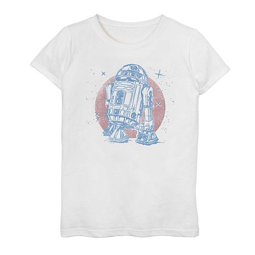 Girls 7-16 Star Wars R2-D2 Graphic Tee