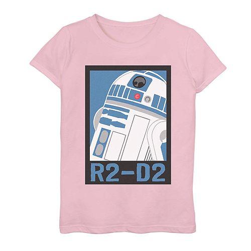 Girls 7-16 Star Wars R2-D2 Graphic Tee
