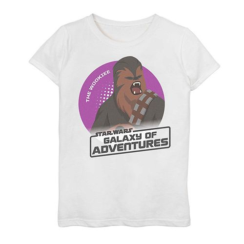 Girls' 7-16 Star Wars Galaxy of Adventures Graphic Tee