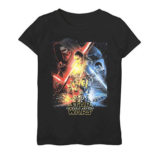 Girls' 7-16 Star Wars: The Force Awakens Graphic Tee