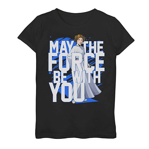 Girls' 7-16 Star Wars May the Force Be With You Graphic Tee