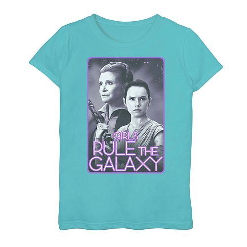 Girls' 7-16 Star Wars Girls Rule the Galaxy Graphic Tee