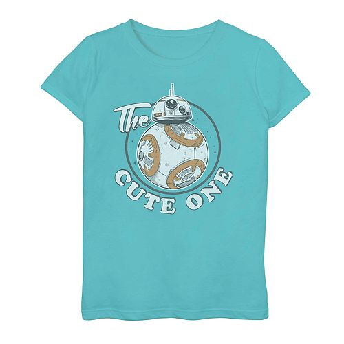 Girls' 7-16 Star Wars BB-8 The Cute One Graphic Tee