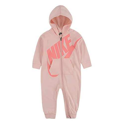 Baby Girl Nike Hooded Jumpsuit