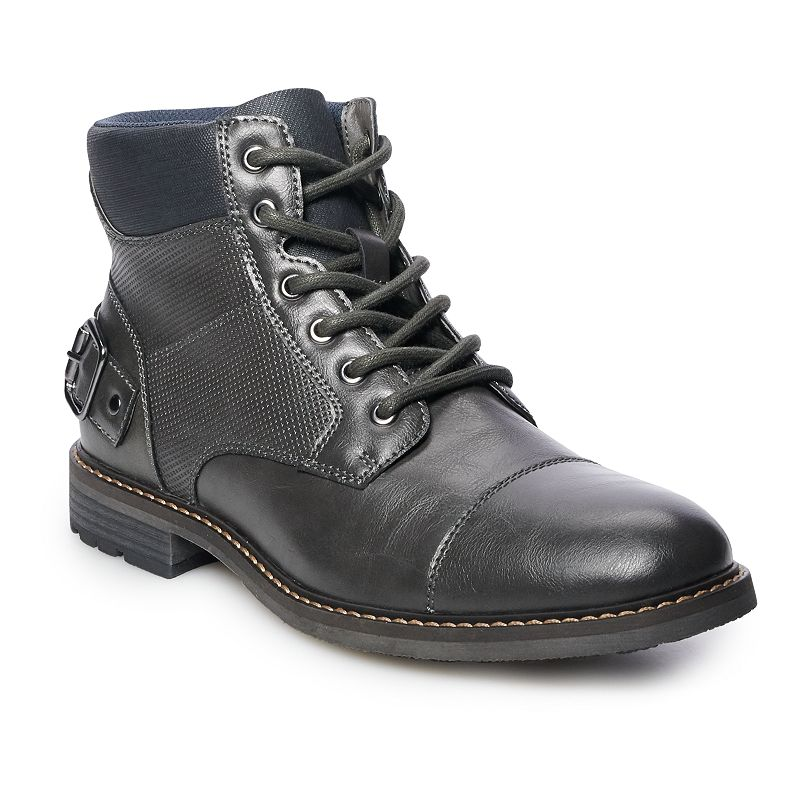 Sonoma Goods For Life McCreery Men's Ankle Boots, Size: Medium (13), Grey