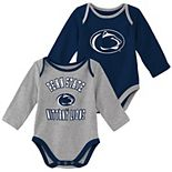 Baby Boy Penn State Nittany Lions 2-Piece Trophy Creeper Set