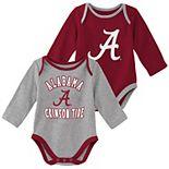 Baby Boy Alabama Crimson Tide 2-Piece Trophy Creeper Set