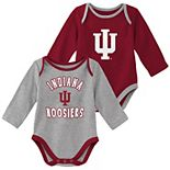 Baby Boy Indiana Hoosiers 2-Piece Trophy Creeper Set