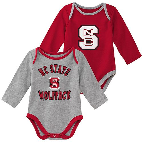 Baby Boy North Carolina State Wolfpack 2-Piece Trophy Creeper Set
