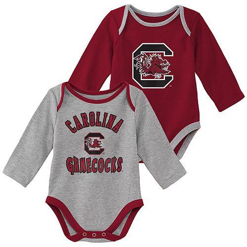 Baby Boy South Carolina Gamecocks 2-Piece Trophy Creeper Set